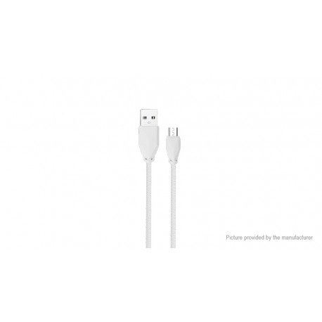 Awei Regular USB 2.0 to micro USB Cable Λευκό 1m (CL-982)