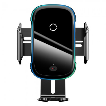 Baseus Βάση Στήριξης-Ασύρματος Φορτιστής Wireless Qi Charger 15W Electric Auto Car Mount – Μαύρο WXHW03-01