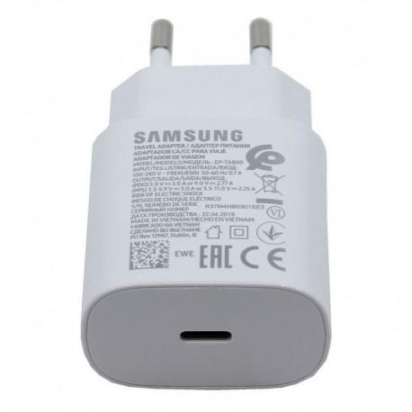 Γνήσιος Φορτιστής Fast charge Samsung Galaxy Note 10/10+ EP-TA800EWE άσπρος (Bulk) , GH44-03055A
