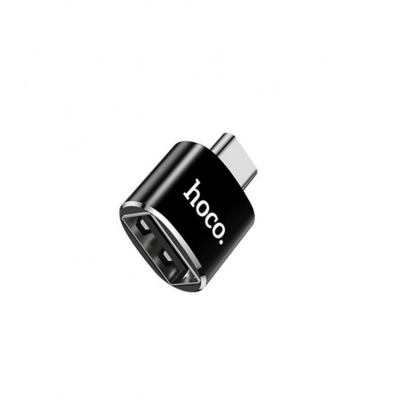 OTG  Αντάπτορας Hoco UA5 USB-C σε USB Μαύρο OTG 2.4A