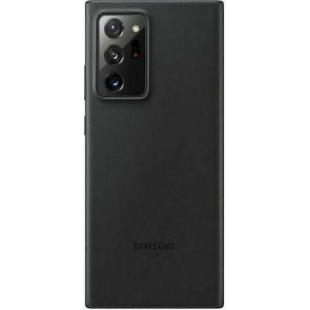 Γνήσια Θήκη Samsung Leather Cover Μαύρο Galaxy Note 20