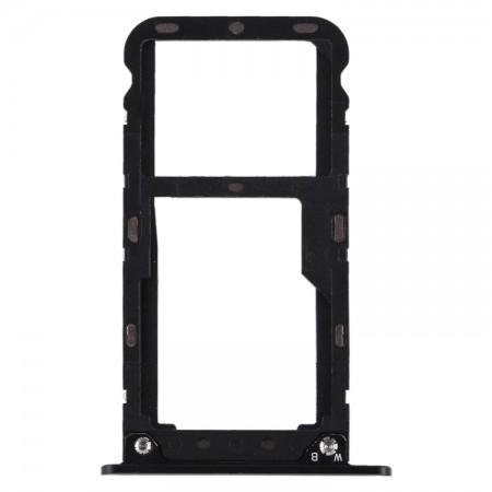 Υποδοχή κάρτας SIM και SD Tray για Xiaomi Redmi 5 Plus Μαύρο