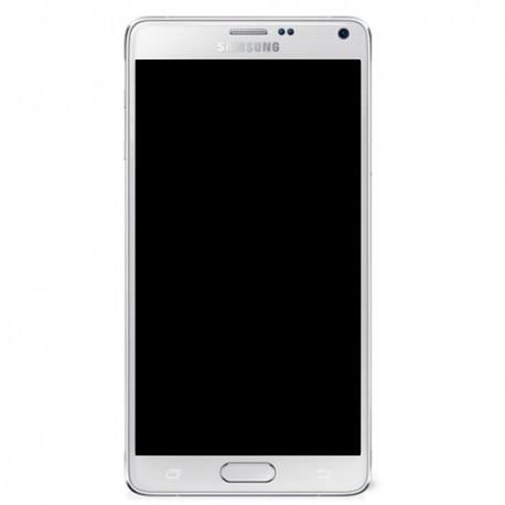 N910F Γνήσια οθόνη Samsung Galaxy Note 4 Άσπρη, GH97-16565A