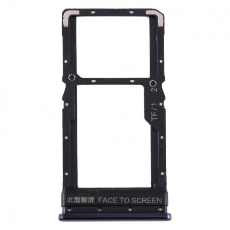 Υποδοχή κάρτας SIM και SD Tray για Xiaomi Poco X3 Μαύρο