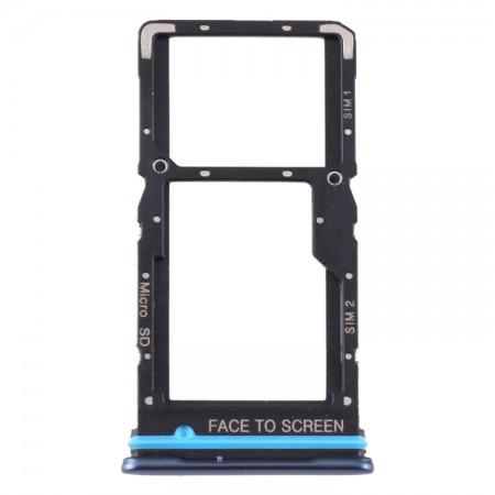 Υποδοχή Κάρτας Sim Και Micro SD Για Xiaomi Mi 10T Lite 5G (Blue)