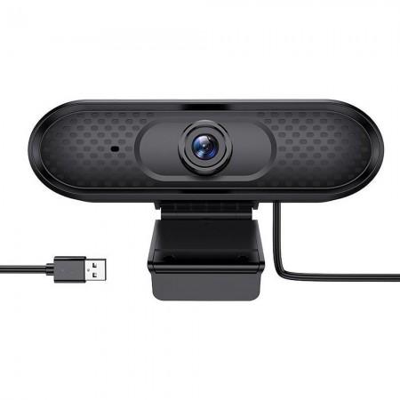 Webcam Hoco DI01 HD 1080P Μαύρη