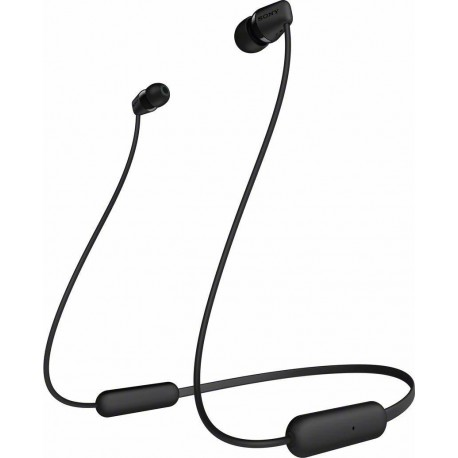 Bluetooth ακουστικά SONY WI-C200 Μαύρα
