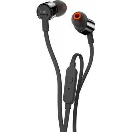 JBL T110 In-ear Handsfree με Βύσμα 3.5mm Μαύρο