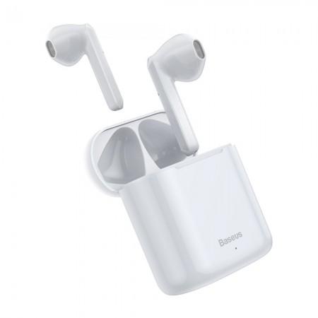 Ακουστικά Bluetooth Baseus Encok Wireless TWS W09 Λευκά