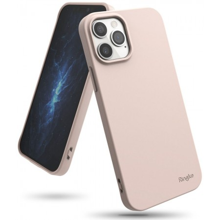 Θήκη Apple iPhone 12 / 12 Pro Ροζ- Ringke Air S Back Cover Σιλικόνης