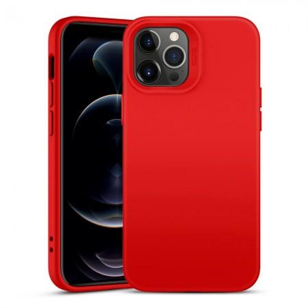 Θήκη Apple iPhone 12 / 12 Pro Back Cover Σιλικόνης Κόκκινη - ESR Cloud