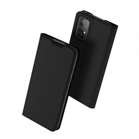 Θήκη Samsung Galaxy A52 Book Μαύρη - DuxDucis Skin Pro