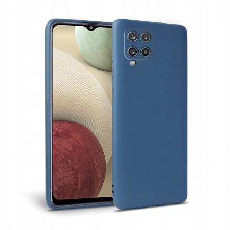 Θήκη Samsung Galaxy A12 Back Cover Σιλικόνης Μπλε - Tech Protect