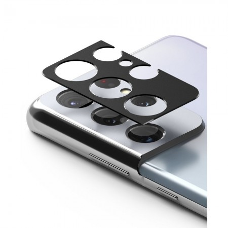Προστατευτικό Κάμερας Μαύρο Samsung Galaxy S21 Ultra - Ringke