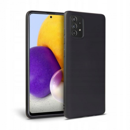 Θήκη Samsung Galaxy A52 Back Cover Σιλικόνης Μαύρη - Tech Protect