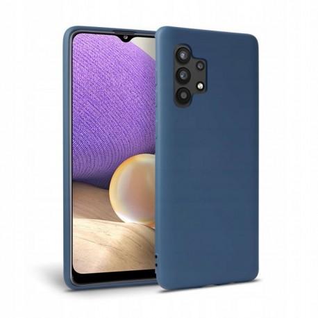 Θήκη Samsung Galaxy A32 Back Cover Σιλικόνης Μπλε LTE - Tech Protect