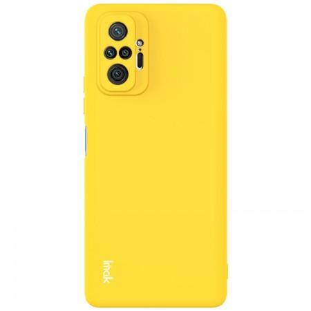 Θήκη Xiaomi Redmi Note 10 Pro / 10 Pro Max Back Cover Σιλικόνης Κίτρινη- IMAC UC-2