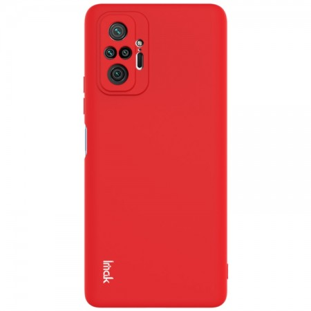 Θήκη Xiaomi Redmi Note 10 Pro / 10 Pro Max Back Cover Σιλικόνης Κόκκινη- IMAC UC-2