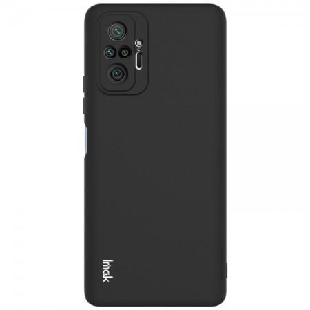Θήκη Xiaomi Redmi Note 10 Pro / 10 Pro Max Back Cover Σιλικόνης Μαύρη - IMAC UC-2
