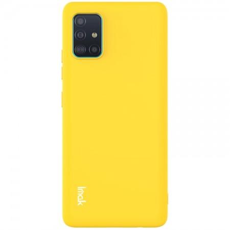 Θήκη Samsung Galaxy A71 5G Back Cover Σιλικόνης Κίτρινη - IMAC UC-2