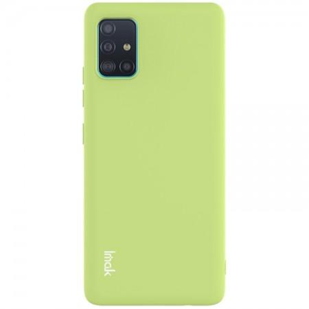 Θήκη Samsung Galaxy A71 5G Back Cover Σιλικόνης Πράσινη - IMAC UC-2