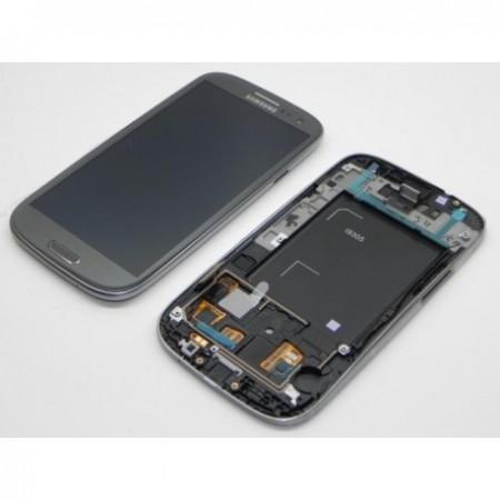 i9305 Γνήσια οθόνη και touch Samsung Galaxy S3 III Γκρί,GH97-14106A