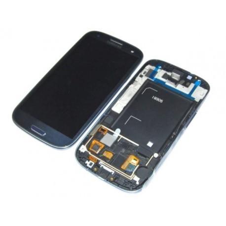i9305 Γνήσια οθόνη και touch Samsung Galaxy S3 III Μπλέ,GH97-14106D