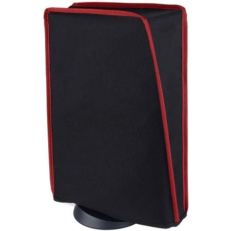 Προστατευτικό Κάλυμμα Σκόνης Για Playstation 5 Disk & Digital Edition (Μαύρo-Κόκκινο) - PlayVital 52161500