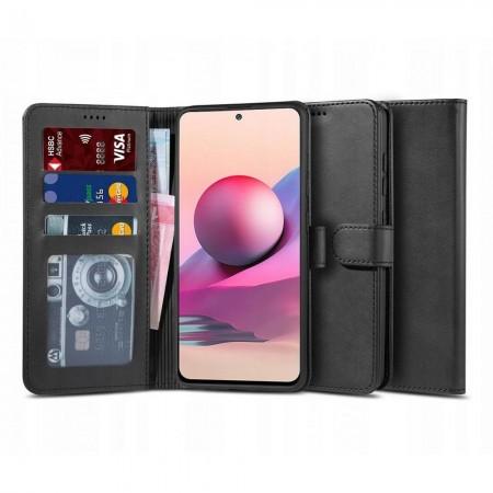 Θήκη Xiaomi Redmi Note 10 / 10s Book Δερματίνης Μαύρο - Tech Protect
