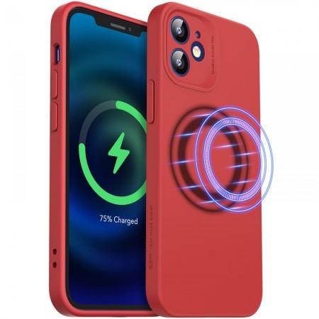 Θήκη Apple iPhone 12 Back Cover Magnet Σιλικόνης Κόκκινη - ESR Cloud