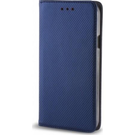 Θήκη Huawei P30 Book Magnetic Μπλε - Senso