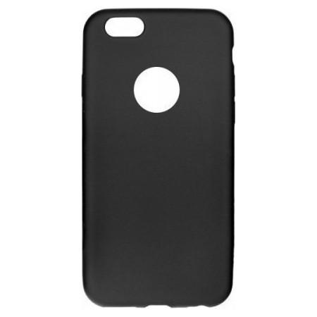 Θήκη Apple iPhone 6 Plus Back Cover Σιλικόνης Μαύρη - Senso
