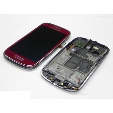 i9195 Γνήσια οθόνη και touch Samsung Galaxy S4 Mini Κόκκινο,GH97-14766F