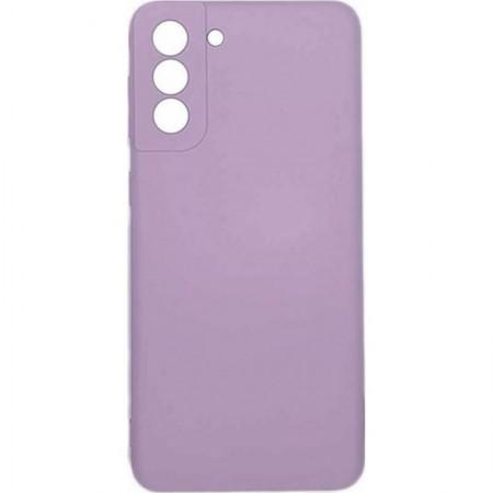 Θήκη Samsung Galaxy S21+  5G Back Cover Σιλικόνης Μωβ