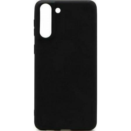 Θήκη Samsung Galaxy S21+  5G Back Cover Σιλικόνης Μαύρη