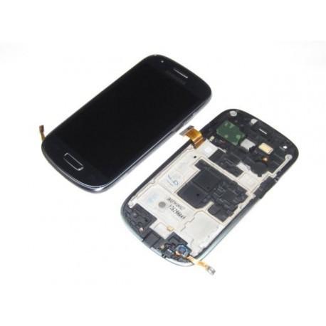 i8200N Γνήσια οθόνη και touch Samsung Galaxy S3 Mini Value Edition Μαύρη,GH97-15508C