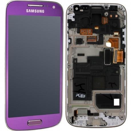 i9195 Γνήσια οθόνη και touch Samsung Galaxy S4 Mini Μωβ,GH97-14766E