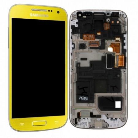 i9195 Γνήσια οθόνη και touch Samsung Galaxy S4 Mini Κίτρινη,GH97-14766J