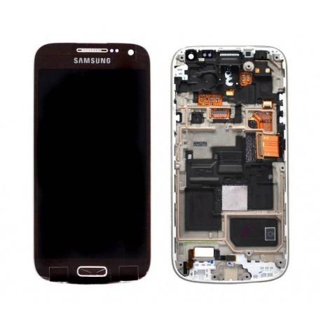 i9195 Γνήσια οθόνη και touch Samsung Galaxy S4 mini Καφέ,GH97-14766D