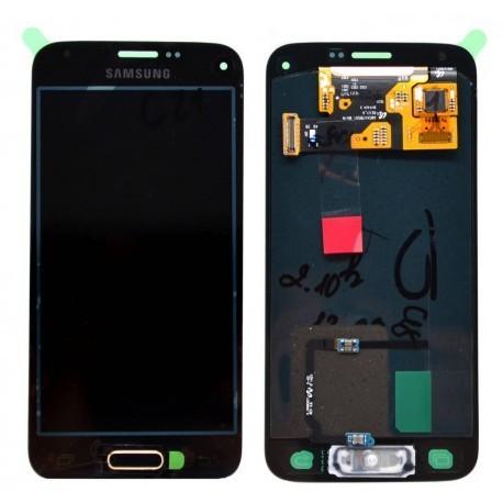 G800F Γνήσια οθόνη και touch Samsung Galaxy S5 Mini Χρυσαφί ,GH97-16147D