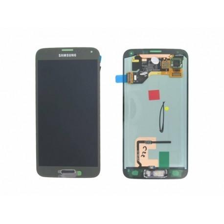 G900F Γνήσια οθόνη και touch Samsung Galaxy S5 Χρυσό, GH97-15959D